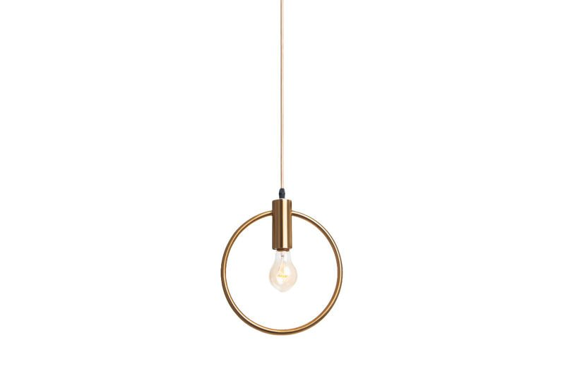 Pendant Lamp Gold Ring - BOLTON 250