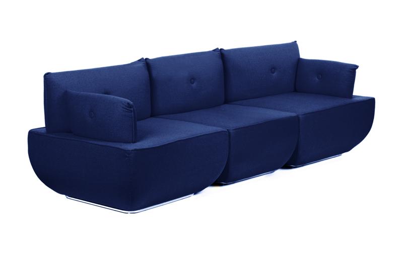 Sofa PACKAX 3 Osobowa Wełna