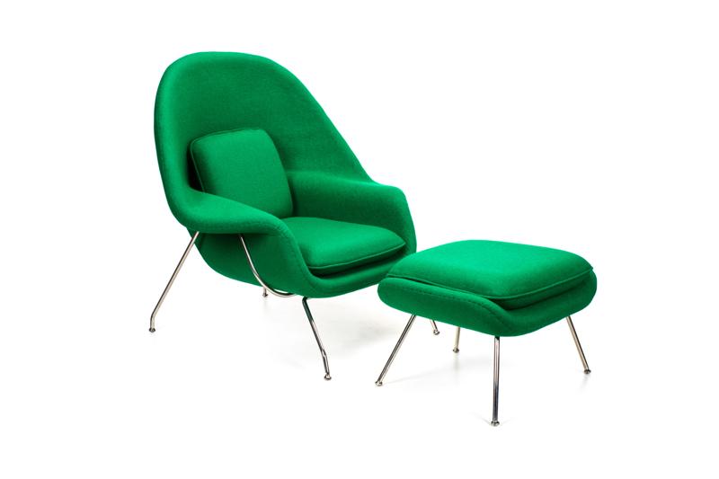 Fotel MANIPA Z Podnóżkiem