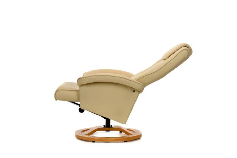 Fotel Telewizyjny DECAL Z Masażem I Podnóżkiem
