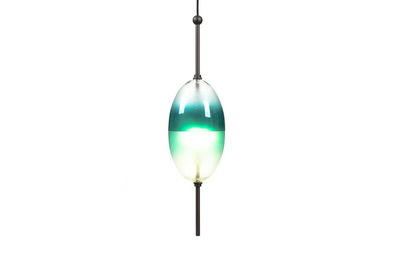 Lampa MANSET 160 Niebieska