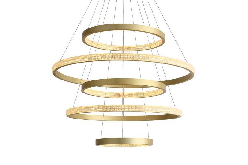 Lampa Wisząca Okręgi LED - TARS 5 MODEL A