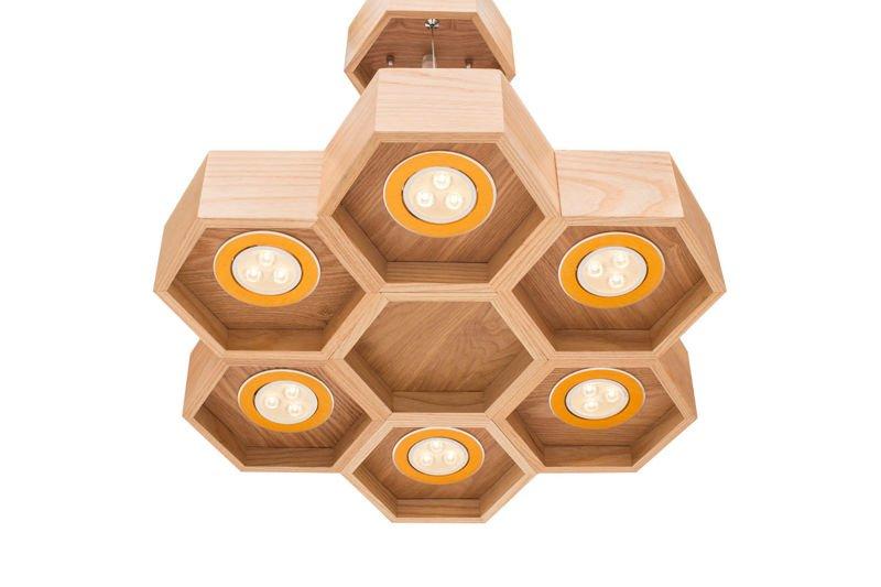 Lampa Wisząca Plaster Miodu - HEXA 6