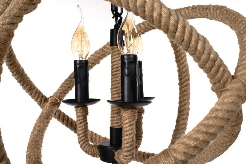 Lampa Wisząca Sznur Lina - ALONZO 350