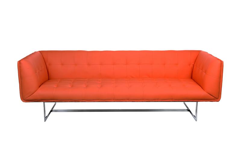 Sofa EDWARD 3 Osobowa Skóra Ekologiczna