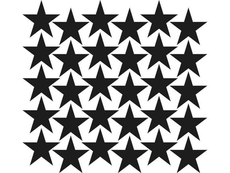 naklejki | gwiazdki - małe Pastelowe Love
