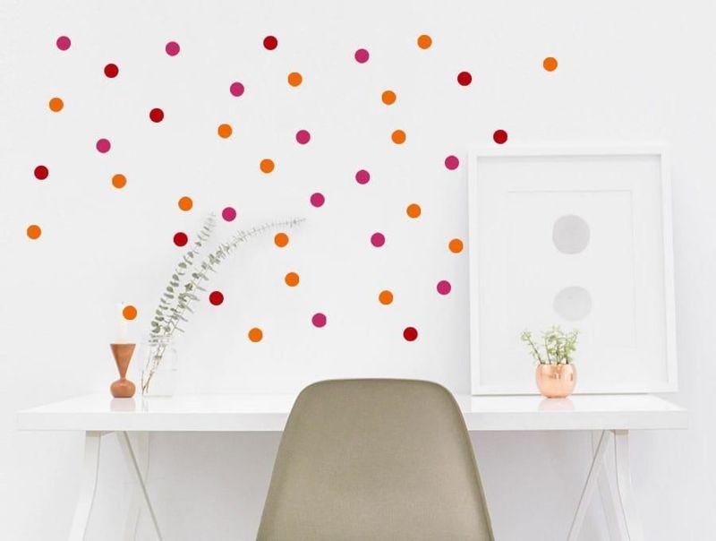 naklejki | konfetti - 3 Pastelowe Love