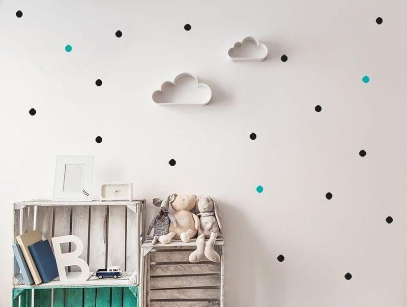 naklejki | kropki - małe Pastelowe Love